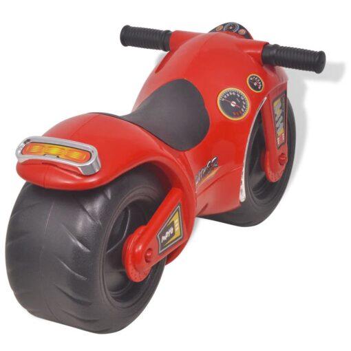 vidaXL Ride-on Motorcykel Plastik Rød