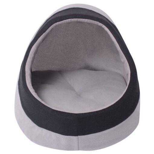 vidaXL kattehule, grå og sort, M