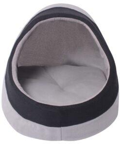 vidaXL kattehule grå og sort XL