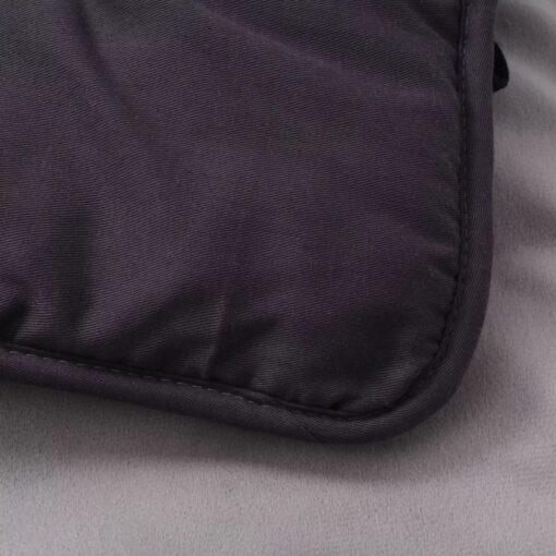 vidaXL hundeseng grå 65×100 cm