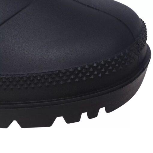 vidaXL gummistøvler str. 40 sort