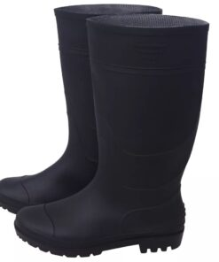 vidaXL gummistøvler str. 43 sort