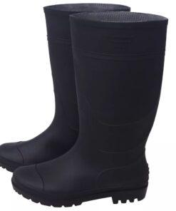 vidaXL gummistøvler str. 45 sort