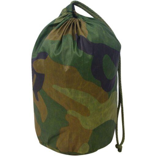 vidaXL kamuflagenet med opbevaringspose, 1,5×4 m