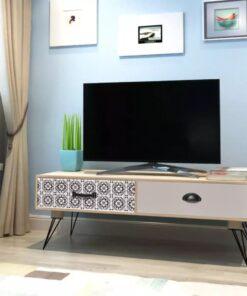 vidaXL TV-bord 100 x 40 x 35 cm brun