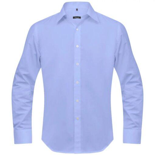 vidaXL Businessherreskjorte str. XXL lyseblå