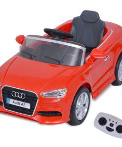 vidaXL elektrisk ride-on bil med fjernbetjening Audi A3 rød