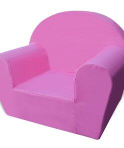 vidaXL børnelænestol pink