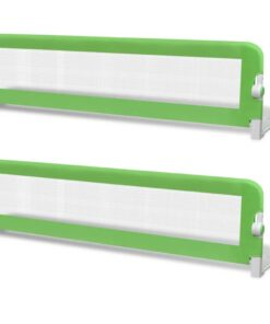 vidaXL sengehest til børn 2 stk. 150 x 42 cm grøn