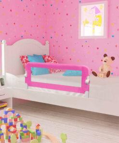 vidaXL sengehest til børn 2 stk. 102 x 42 cm pink