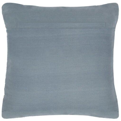 vidaXL puder 2 stk. chindi grå 45 x 45 cm læder og bomuld