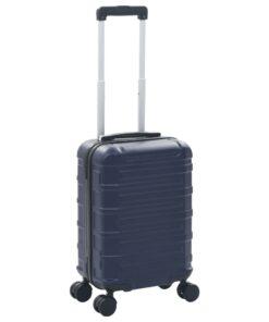 vidaXL hardcase-kuffert ABS marineblå
