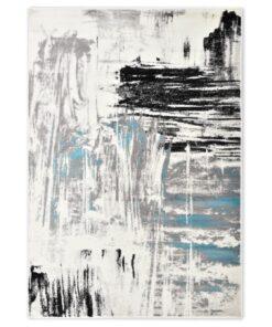 vidaXL gulvtæppe 160 x 230 cm PP blå
