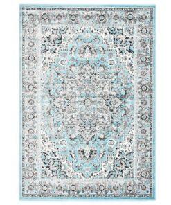 vidaXL gulvtæppe 160 x 230 cm PP lyseblå