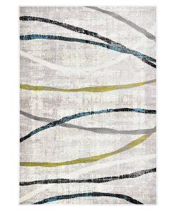 vidaXL gulvtæppe 120 x 170 cm PP flerfarvet