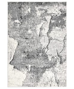 vidaXL gulvtæppe 140 x 200 cm PP grå