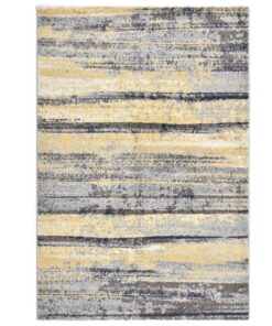 vidaXL gulvtæppe 140 x 200 cm PP grå og beige