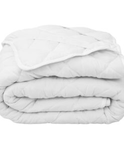 vidaXL vatteret madrasbeskytter 120 x 200 cm tung hvid