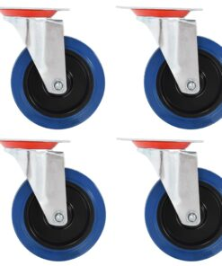 vidaXL drejehjul 12 stk. 100 mm