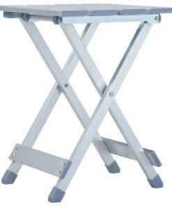 vidaXL campingstol 28 x 26 x 39 cm aluminium