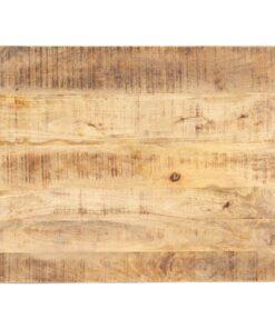 vidaXL bordplade 15-16 mm 80×60 cm massivt mangotræ