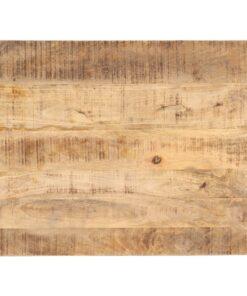 vidaXL bordplade 25-27 mm 80×70 cm massivt mangotræ