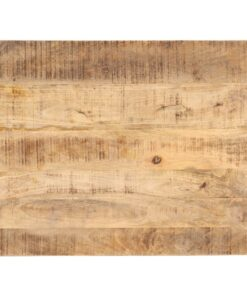 vidaXL bordplade 25-27 mm 90×70 cm massivt mangotræ