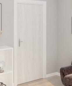 vidaXL selvklæbende folie til døre 2 stk. 210×90 cm PVC hvidt træ