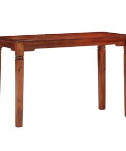 vidaXL spisebord 120 x 60 x 76 cm massivt akacietræ