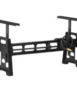 vidaXL højdejustérbart spisebordsstel 150x60x90 cm støbejern