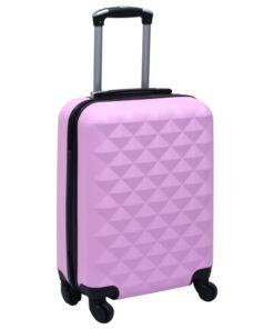vidaXL hardcase-kuffert ABS pink
