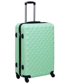 vidaXL hardcase-kuffert ABS mintgrøn
