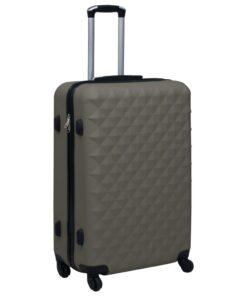 vidaXL hardcase kuffert ABS antracitgrå